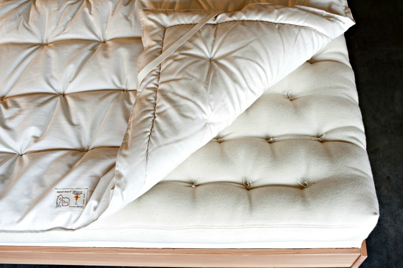 WOOL Mattress Pad: Organic Bedding Made in USA | Shepherd's Dream