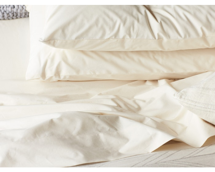 Organic Cotton Fitted Sheets Gots Certified In Natural