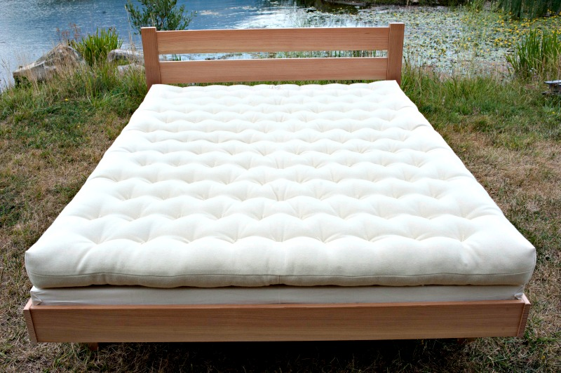"The Premium All Wool Mattress ~ 5"" Thick"