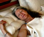 Protect your neck with a Wool Filled Contour Pillow