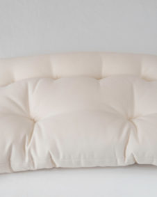 Topside of Contour Sleep Pillow on white background