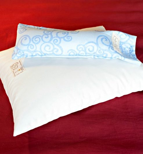 Neck Pillow with Organic Cotton Cover