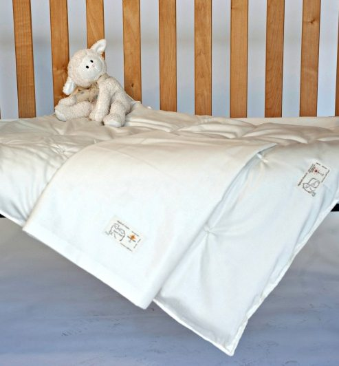 Crib Comforter with Cover