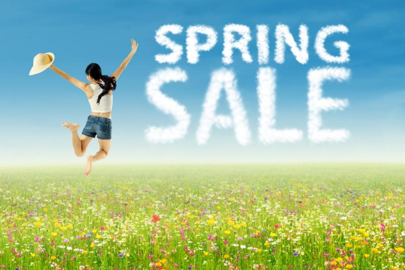 Wishing You a Happy Spring ~ Spring SALE!
