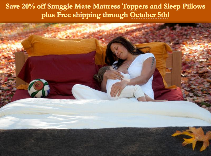 Save 20% off Snuggle Mate Mattress Toppers and Sleep Pillows