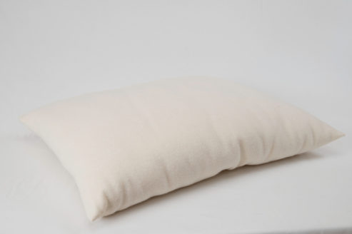 All Wool Dream Pillow on white background.