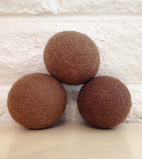Alpaca Dryer Balls Stacked