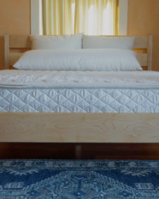 Latex Mattress on Maple Classic Frame