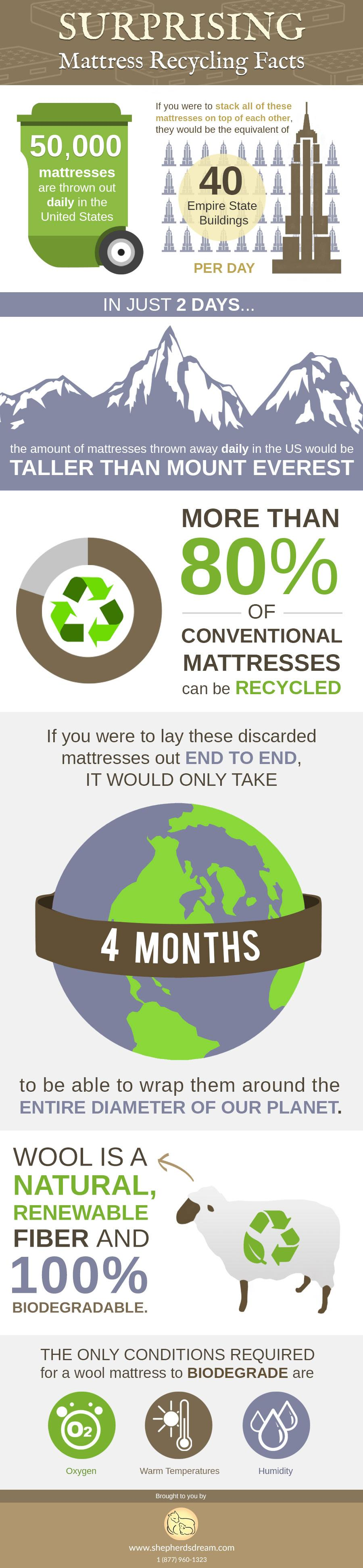 Biodegradable Beds vs Conventional Mattresses in Landfills
