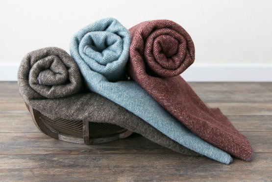 Natural Comforters & Blankets