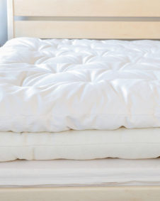 Snuggle mate wool topper, all wool mattress, cascade latex base