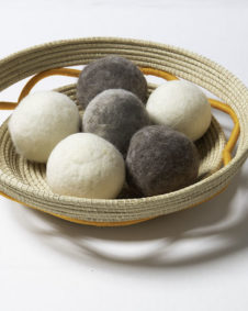 Assorted Dryer Balls Basket